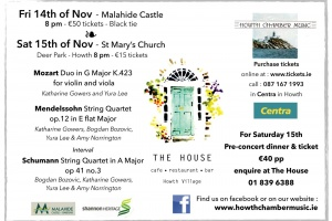 An evening of classical entertainment at Malahide Castle)