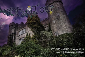 CREEPY CASTLE TOURS: )